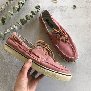 SPERRY Canvas Boat Shoe 8